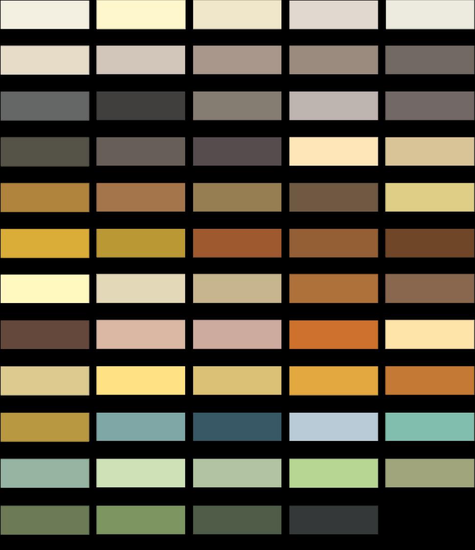 Farbauswahl Silikatfarben