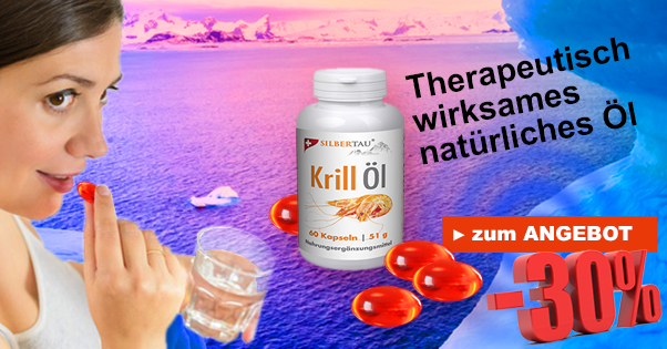 Therapeutisch wirksames Krill-Öl