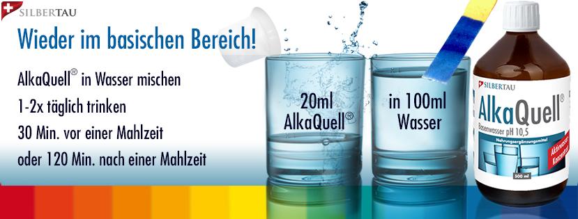 Mit AlkaQuell® Basenwasser-Konzentrat im Gleichgewicht bleiben