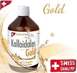 Kolloidales Gold 500ml 8ppm