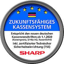 Zukunftsfähige Sharp Kassen mit zertifizierter TSE