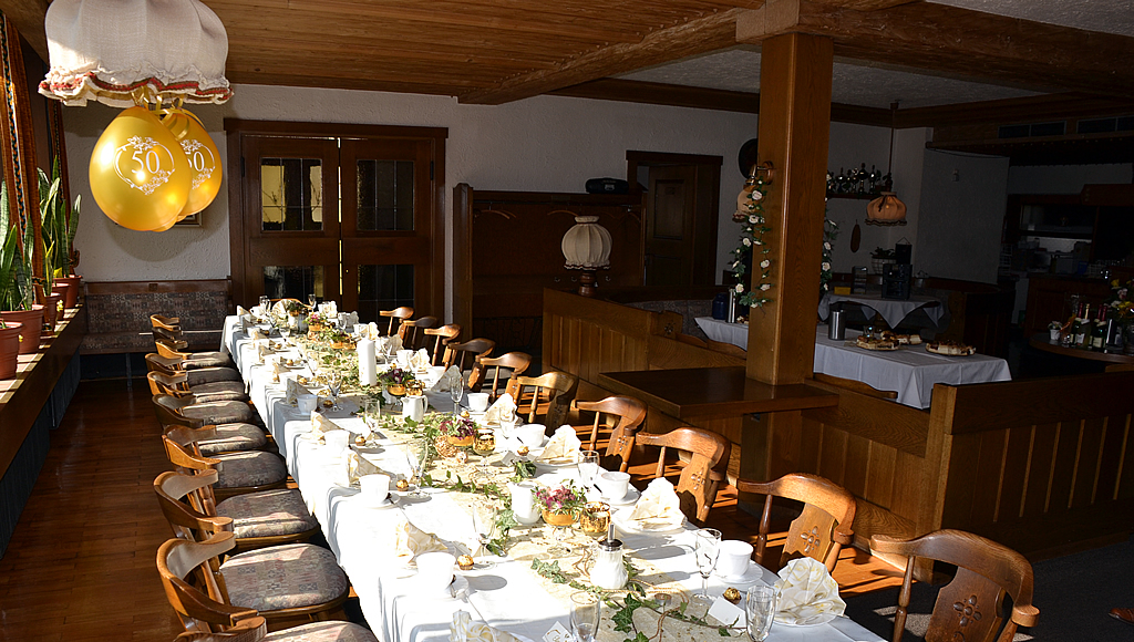 Feiern im Gasthof Pension Sonne