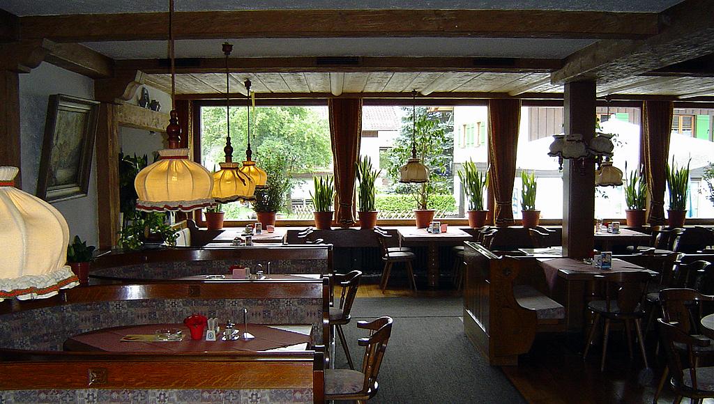 Gaststube Gasthof Pension Sonne